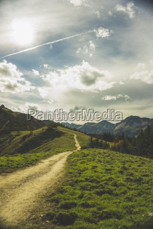 austria tyrol tannheimer tal hiking trail