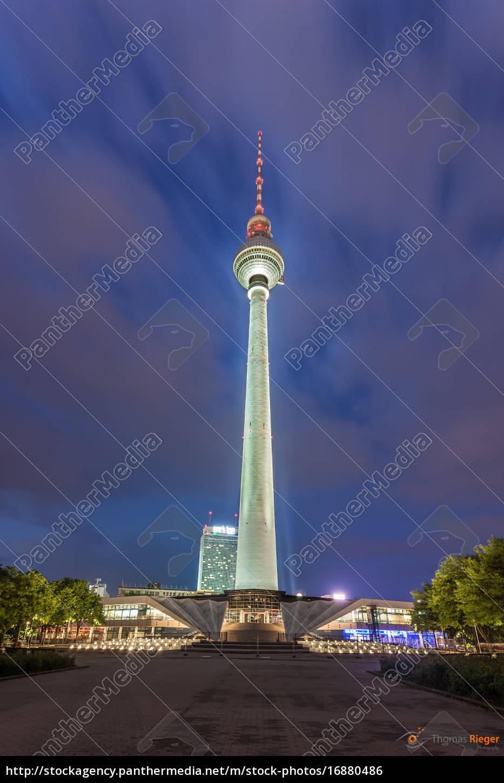 Stock image 16880486 - radio tower alex in berlin