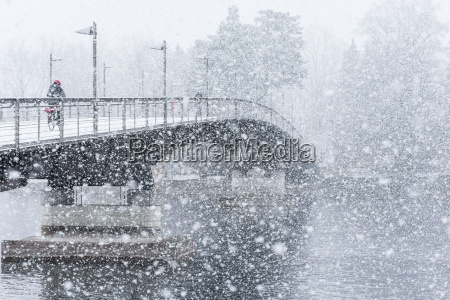 germany baden wuerttemberg constance snowfall cycle