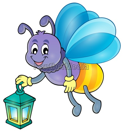 firefly with lantern theme image 1