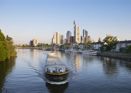 germany hesse frankfurt financial district cargo