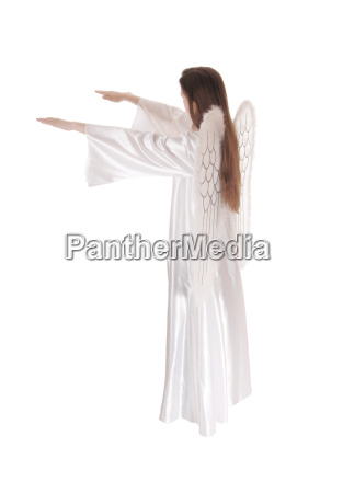 angel standing in profile 11