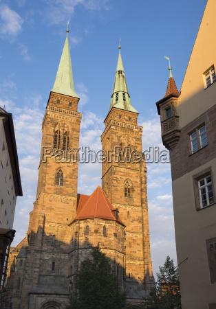 germany nuremberg st sebaldus church