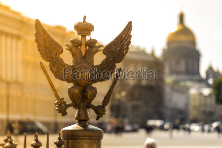 russia saint petersburg double eagle of