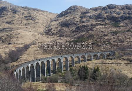 uk scotland scottish highlands glenfinnan viaduct