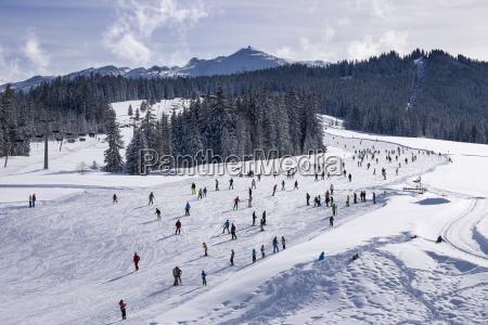 germany reit im winkl snow covered