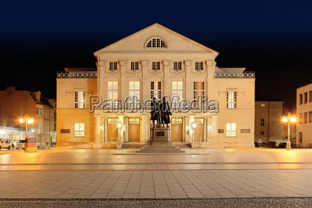 germany thuringia weimar german national theatre