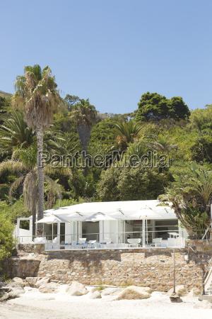 house on tropical beach