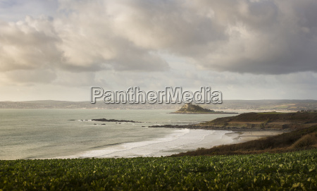 scenic view of seaside landscape with