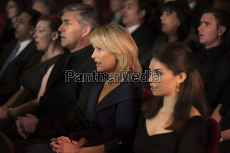 serious theater audience