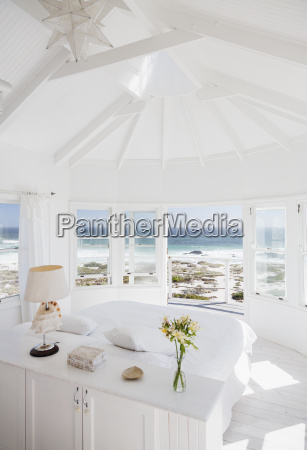 bedroom overlooking ocean