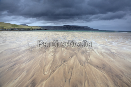 long exposure view balnakiel beach durness