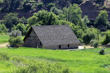 barn roof church of panagia podithou