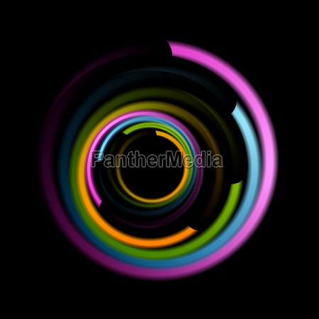 abstract, colorful, swirl, circle, logo - 17304682