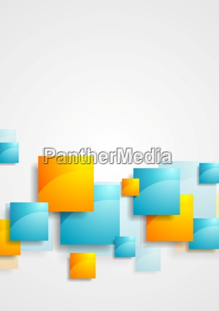 shiny glossy squares abstract tech background