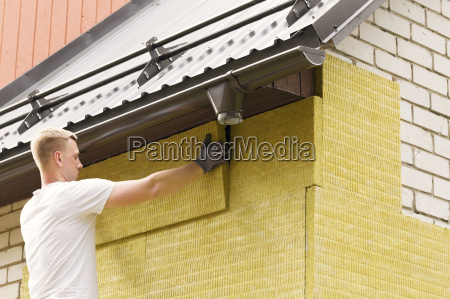house insulation insulating house facade