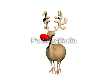 exempted comic reindeer