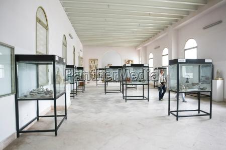 interior of carthage national museum