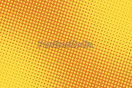 retro comic fondo amarillo raster gradiente