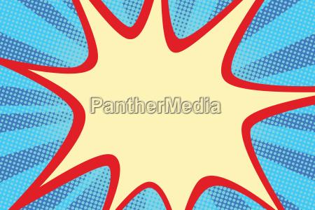 retro comic blue background raster gradient