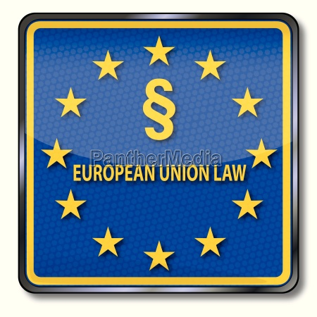sign with paragraph with eu law