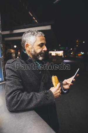 austria vienna man with cheese carniolan