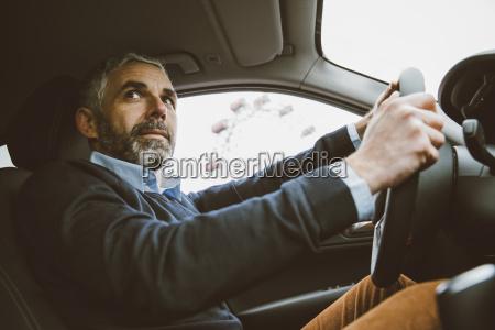 austria vienna portrait of man driving