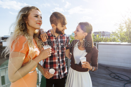austria vienna young people having a