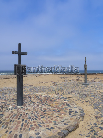 namibia cape cross stone crosses padros
