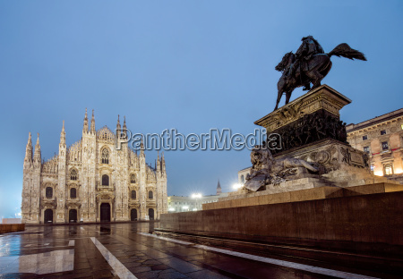 italy milan milan catherdal and monument