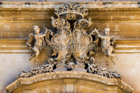italy sicily noto parrocchia madonna del