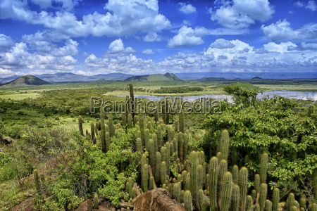 kenya rift valley province view to