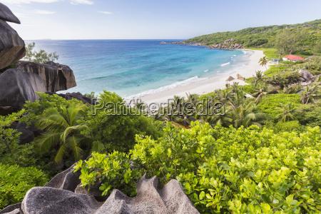 seychelles la digue east coast grand