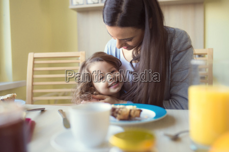 portrait of smiling little girl and