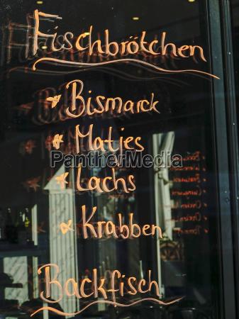 germany hamburg choice of a snack