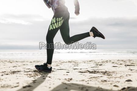 spain tarragona legs and sneakers running