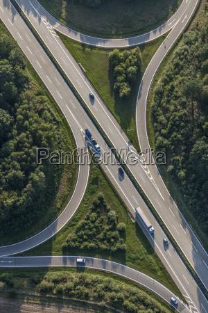 germany bavaria siegenburg a 93 motorway