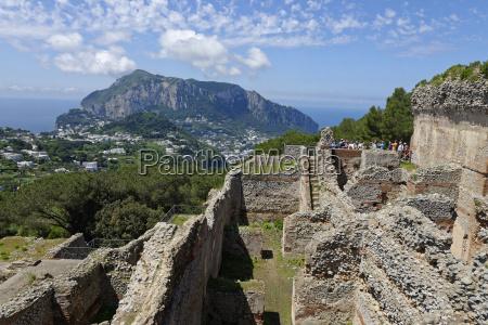 italy campania gulf of naples capri