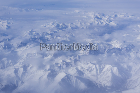 italy alps aerial view of the