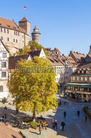 germany bavaria nuremberg old town nuremberg