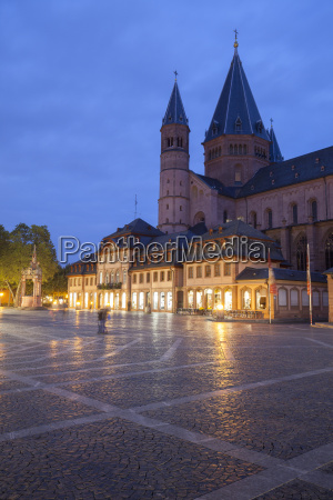 germany rhineland palatinate mainz cathedral and