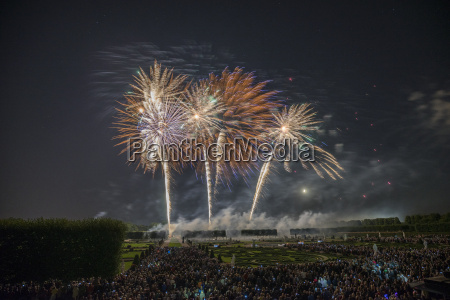 germany hannover international fireworks competition at