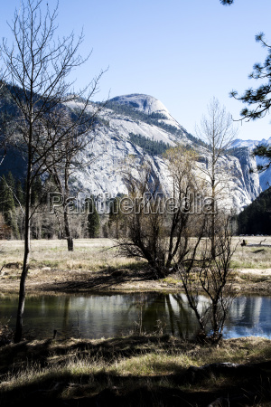 usa california landscape in yosemite national