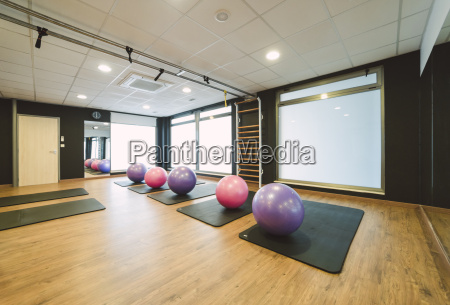 training room in a pilates gym