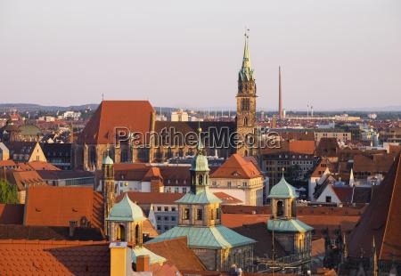 germany bavaria middle franconia nuremberg townhall