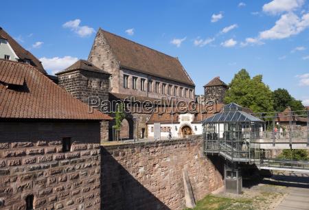 germany nuremberg lorenz old town city