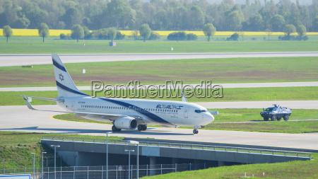 airplane boeing 737 800 el al