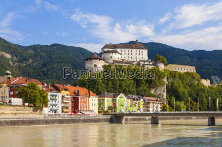 austria tyrol kufstein fortress above the