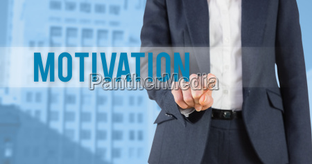 motivation against low angle view of