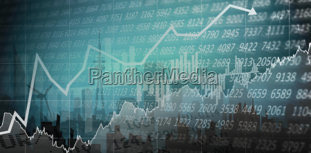 composite image of stocks and shares